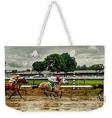 Approaching The Far Turn Weekender Tote Bag
