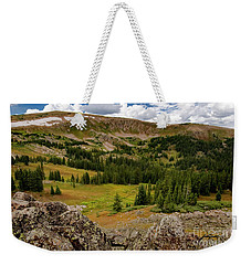 Approaching The Great Divide Weekender Tote Bag