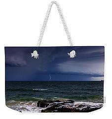 Approaching Thunder Storm Weekender Tote Bag
