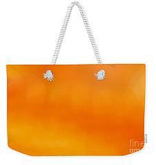 Apricot Drop Weekender Tote Bag by Carlee Ojeda