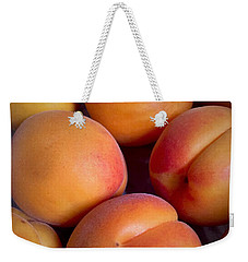 Weekender Tote Bag featuring the photograph Apricots by Cristina Stefan