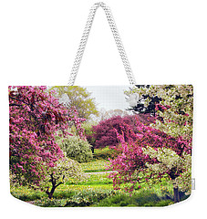 April Afterglow Weekender Tote Bag by Jessica Jenney