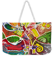 April Bouquet Weekender Tote Bag