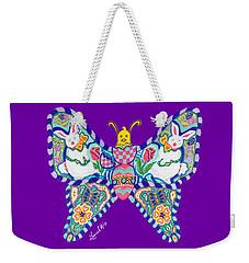 April Butterfly Weekender Tote Bag