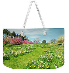 Weekender Tote Bag featuring the photograph April Days by Diana Angstadt