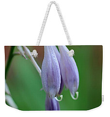 Weekender Tote Bag featuring the photograph April Ends by Michiale Schneider
