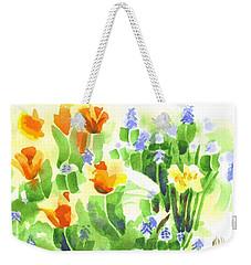 April Flowers 2 Weekender Tote Bag by Kip DeVore
