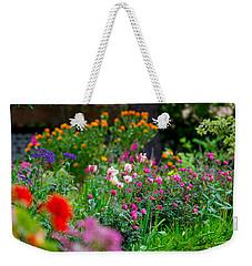April Flowers Weekender Tote Bag by Derek Dean