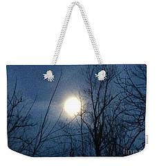 April Moonlight Weekender Tote Bag