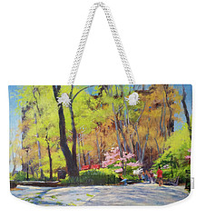 April Morning In Carl Schurz Park Weekender Tote Bag