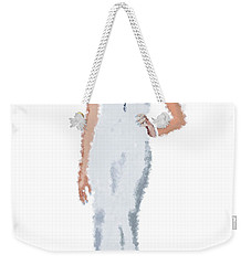 Weekender Tote Bag featuring the digital art April by Nancy Levan