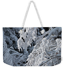 April Snow Weekender Tote Bag