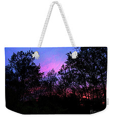 April Sunset Weekender Tote Bag