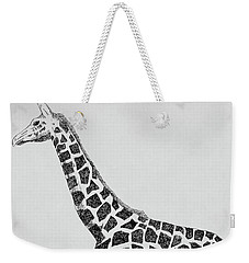 April The Giraffe Weekender Tote Bag