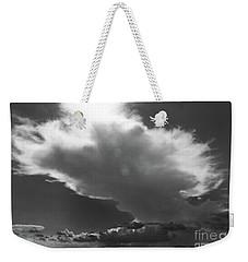 Aproaching Storm In Bw Weekender Tote Bag
