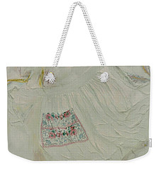 Apron On Canvas - Mixed Media Weekender Tote Bag