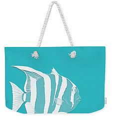 Aqua Fish  Weekender Tote Bag