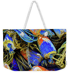 Aqua Hedionda Weekender Tote Bag