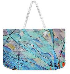 Aqua Lll Weekender Tote Bag