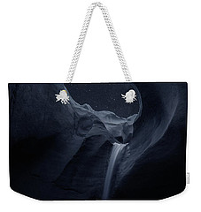 Weekender Tote Bag featuring the photograph Aqua Noctem by Dustin LeFevre