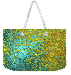Aqua Pearls Weekender Tote Bag by Bruce Pritchett