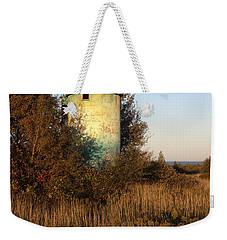 Aqua Silo Weekender Tote Bag