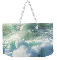 Aqua Surge Weekender Tote Bag