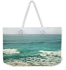 Aqua Tide Weekender Tote Bag