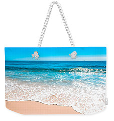Aquamarine Island Beach Weekender Tote Bag