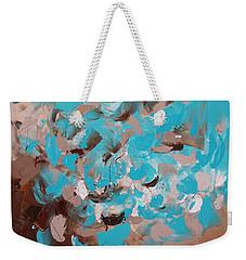 Aquamarine Weekender Tote Bag
