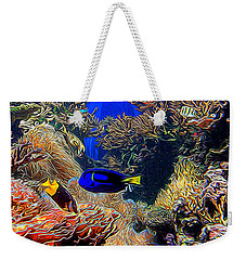 Aquarium Adventures In Abstract Weekender Tote Bag