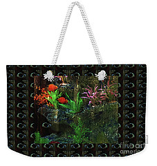 Weekender Tote Bag featuring the photograph Aquarium Kids Entertainment Posters Pod Gifts Pillows Tote Bags Towels Curtains Tshirts Greetingcard by Navin Joshi