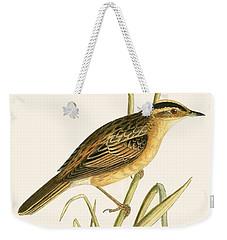 Aquatic Warbler Weekender Tote Bag by English School