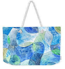 Aquatic Watercolor Weekender Tote Bag