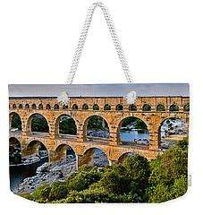 Aqueduct Pont Du Gard Weekender Tote Bag