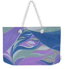 Weekender Tote Bag featuring the drawing Aqueous by Kim Sy Ok