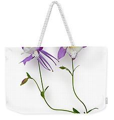 Aquilegia Specimen Weekender Tote Bag