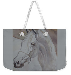 Arab Stallion In The Desert Weekender Tote Bag