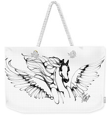 Arabian Angel Weekender Tote Bag
