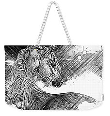 Arabian Sunrise Sketch Weekender Tote Bag