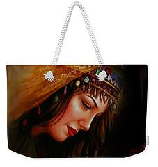 Arabian Woman 043b Weekender Tote Bag