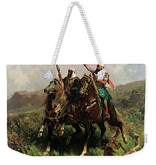 Arabs With A Falcon Weekender Tote Bag