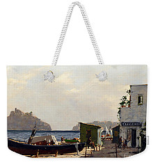 Aragonese's Castle - Island Of Ischia Weekender Tote Bag