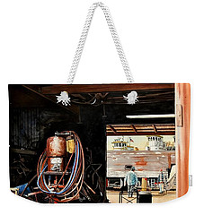 Aransas Pass Boatyard Weekender Tote Bag