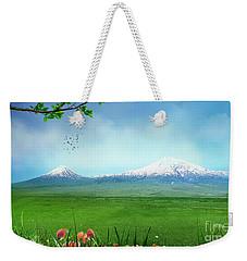 Araratian Field Weekender Tote Bag