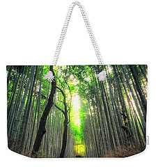 Arashiyama In Kyoto, Japan Weekender Tote Bag