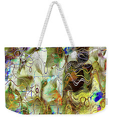 Arbitrary Color Opticality Weekender Tote Bag
