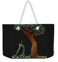 Arbor Scene Weekender Tote Bag
