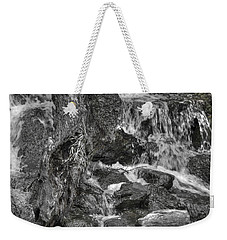 Arboretum Waterfall Bw Weekender Tote Bag