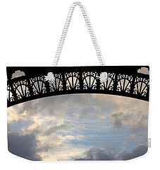 Arch At The Eiffel Tower Weekender Tote Bag